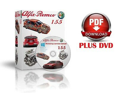 Alfa Romeo 155 Complete Workshop And Service Manual DVD