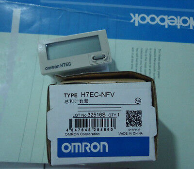 Omron Total Counter H7EC-NFV New In Box