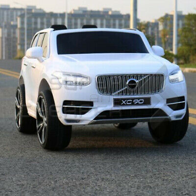 New Licensed Volvo XC90 Kids Ride on Car With 2.4Ghz remote controller white