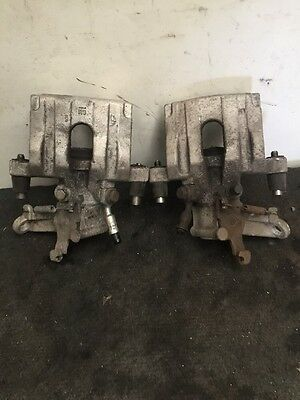 Vauxhall Vectra C 1.8 Petrol 5 Speed Manual Pair Of Rear Brake Calipers With Abs