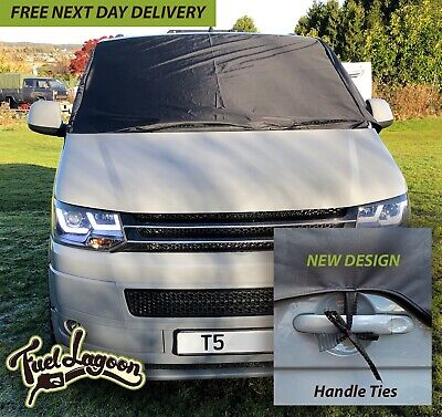 VW Transporter T5 T6 Window Screen Curtain Wrap Cover Frost Protection Blinds