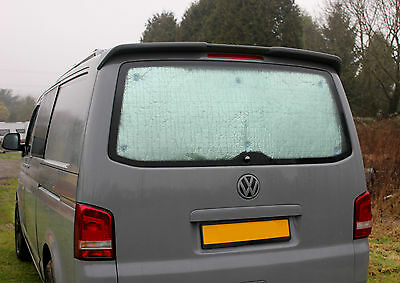 VW T5/T6 Transporter Tailgate Dulxe Silver Window Foil Thermal Screen blind