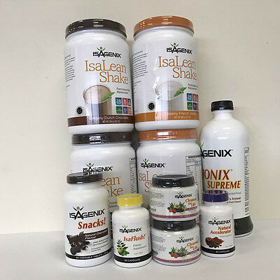 FREE POST Isagenix 30 Day Fat burning, Cleansing & Weight Loss PACK NEW unopend