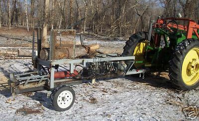 Plans for Hydraulic Firewood Processor, Wood Splitter, Build Your Own.