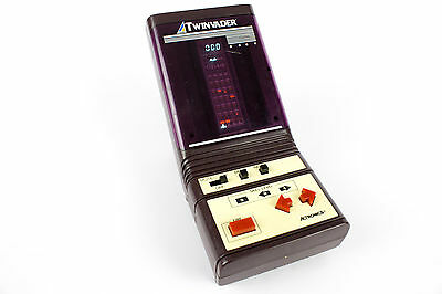 Vintage Electronic 1981 Galaxy Twinvader VFD Video Game by Actronics