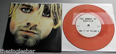 "Nirvana - The Ghost Of Seattle Limited 500 Only 7"" Single Foldout Sleeve"