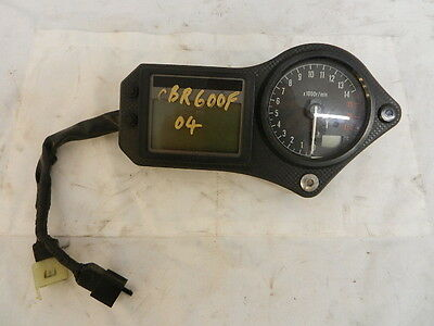 honda cbr600fi 2004 clocks