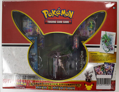 Pokemon Super Premium Collection - Mew & Mewtwo Factory Sealed Box