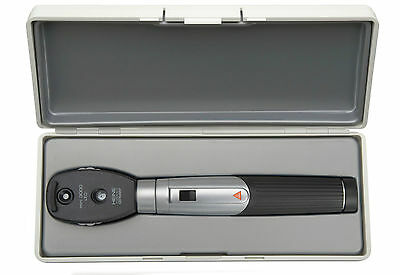HEINE mini 3000 LED Diagnostic Set, LED Ophthalmoscope with battery handle
