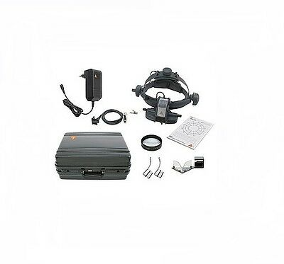 HEINE OMEGA 500 LED Set with mPack UNPLUGGED and plug-in transformer UNPLUGGED