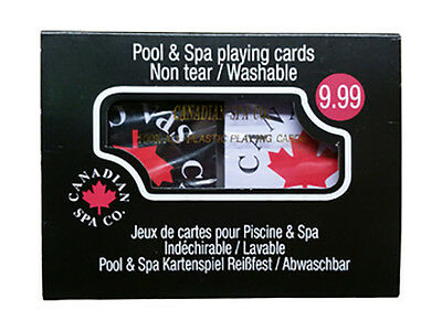 Canadian Spa Company Water-Proof Playing Cards
