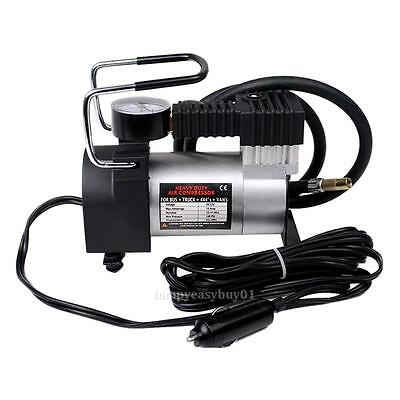 Car Heavy Duty Portable Multi-Use 12V Air Pump Compressor Tyre Inflator