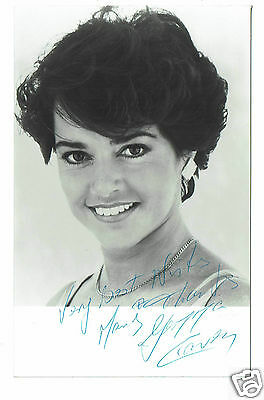 Gemma Craven Theatre and Television Actress  Hand Signed Photograph  5 x 3