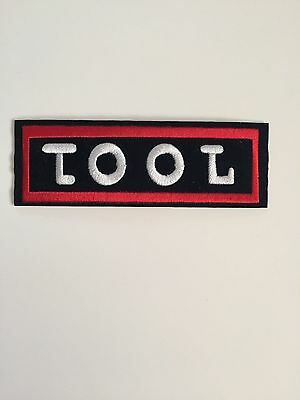 Tool Embroidered Patch Iron on or Sew on