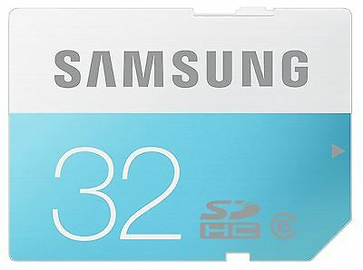 Samsung 32GB SDHC Memory Card For Digital Camera SD Card