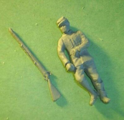 Toy Soldiers American Civil War Wounded Laying Soldier  54 Mm
