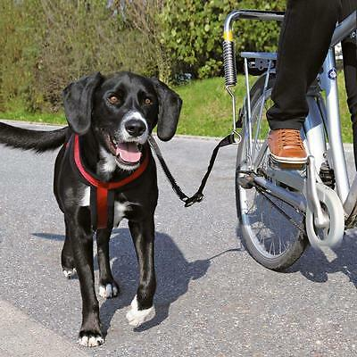 Bike Brace LEAD Dog Harness COLLAR High VISIBILITY Leading Bicycle LARGE DOGS