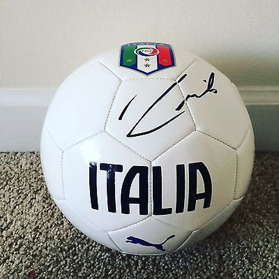 Andrea Pirlo Signed Autograph Full Size 5 Soccer Ball Italy World Cup Proof