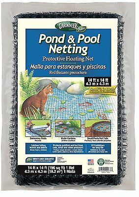 Gardeneer By Dalen Pond & Pool Netting Protective Floating Net 14' x 14'