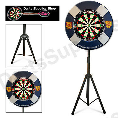 The Scots Darts Caddy Kit, Portable Dartboard Stand for the Serious Darts Player