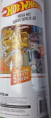 Extra Large hot wheels play mat with 2 vehicles 61in x 47in