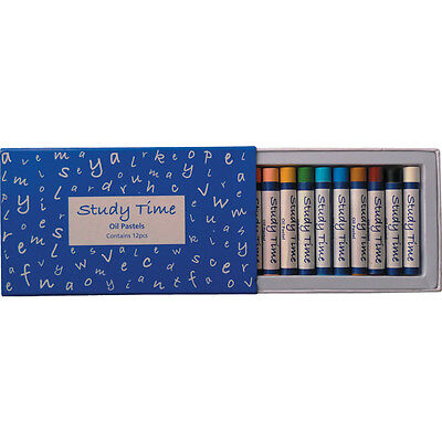 Study Time Standard Oil Pastels (Ass. Pack 12)