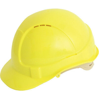 Tuffsafe Vented Comfort Fit Safetyhelmet Yellow
