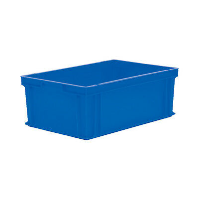 Matlock 600X400X220Mm Euro Container Blue
