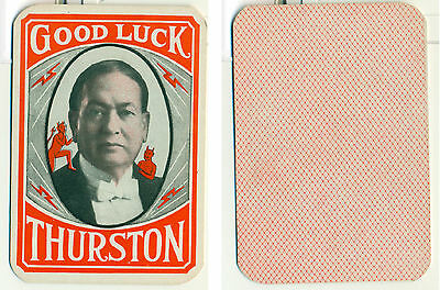 Harry Thurston THROW-OUT CARD - A nice find! Great Condition