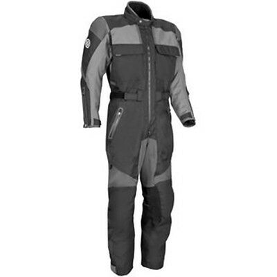 Black Gray Firstgear Expedition Suit  FOR MEN MOTORBIKE MOTORCYCLE Sz. L