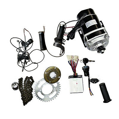 Electric Trike Motorized Tricycle Conversion 24V 450W Brush Gear Motor Kit