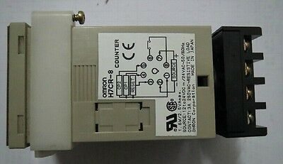 USED OMRON Counter H7CR-8 100-240V tested