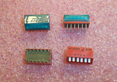 Qty (44) 76Psb06S Grayhill 6 Position Piano Dip Switch  Sealed