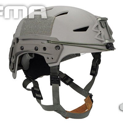 Military Tactical Airsoft Paintball FMA MIC FTP BUMP Helmet T1044FG L/XL