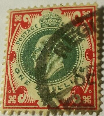 Great Britain  Scott#138-A  Used Stamp Scu300Bb.....worldwide Stamps