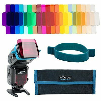 Rogue Gels Universal Lighting Filter Kit Per Flash Gelatine