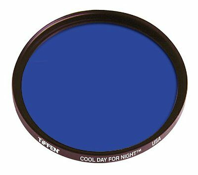 "Tiffen ""COOL DAY FOR NIGHT"" - Filtro blu, 58 mm, per creare effetto notte di gio"