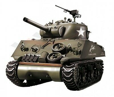 RC Panzer U.S. M4A3 Sherman R&S 2.4GHZ Heng Long neuste Version