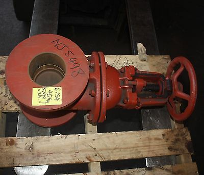 "JOHN 4"" INCH flanged gate valve DN100  AS3579 1006011F 600F 100"