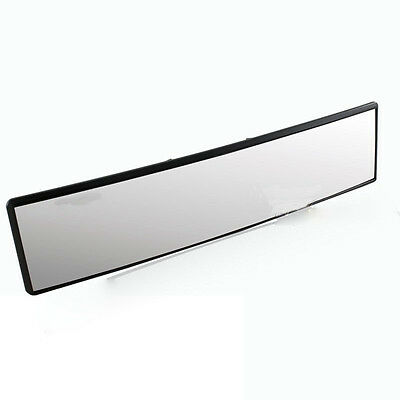 Universal 12 inch Broadway Wide Convex Interior Clip On Car Rear View Mirror