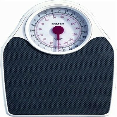 Salter Fitness Mechanical Bathroom Scales 145 White/black