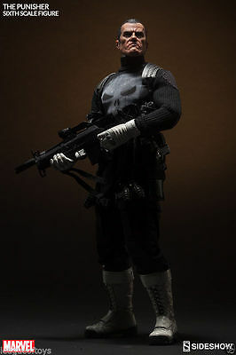 Marvel The Punisher Sixth Scale Figure SIDESHOW COLLECTIBLES - DISPONIBILE NEW