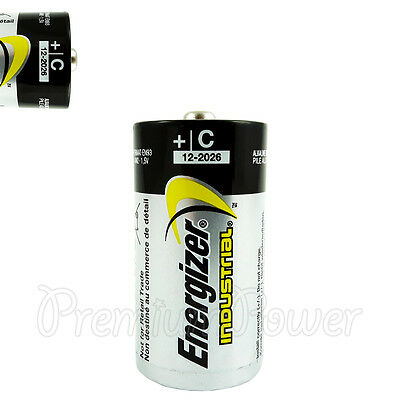 1 x Energizer C size battery Industrial 1.5V LR14 MN1400 EN93 AM2 Baby EXP:2026