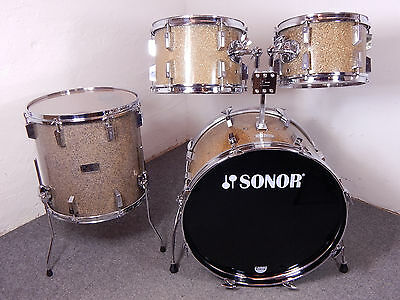 Sonor 70s Champion 22,12,13,16  Schlagzeug Vintage Drumset  *Made in Germany*