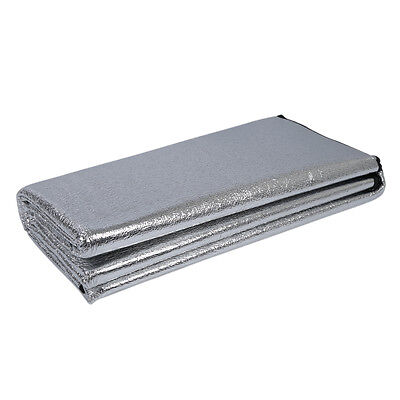 25S8 Hot 200 x 200cm Dampproof Mat Moisture Proof Pad Double Side ItS7 Aluminum