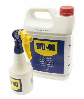 WD40 5LTR Maintenance Spray Rust Lube Penetrating OIL 5 Litre HOME CAR Bike