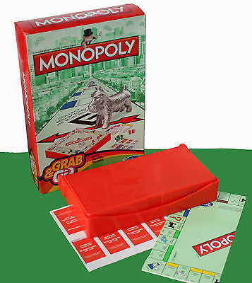 MONOPOLY GARB & GO Classic Travel Board / Hasbro Gaming -  NEW