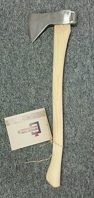 "Council Tool Velvicut 2 Lb. Hudson Bay Axe w/ 24"" Handle JP20HB24C"