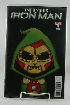 Infamous Iron Man #1! Young Baby Variant! Unread! Marvel! Bendis! NM! 2016