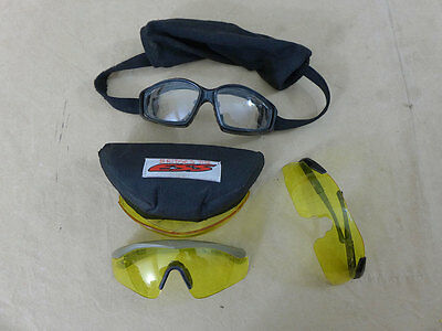 #534 3x GB British Army REVISION / Ess Advancer Tactical Goggles Schutzbrille